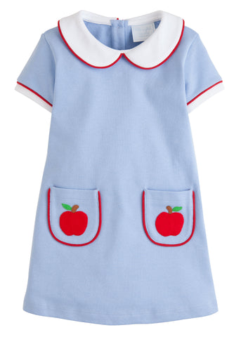 Apple Applique Libby Dress Little English