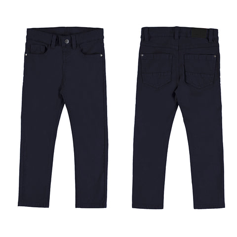 Boy's 5 Pocket Slim Basic Pant by Mayoral