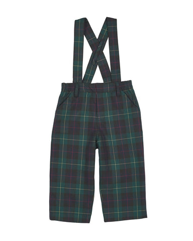 Plaid Pants w/Suspenders Florence Eiseman