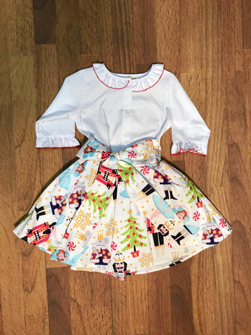 Nutcracker Skirt Set Le Za Me