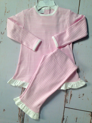 Stripe Swing Top Pants Set Squiggles