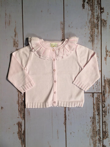 Ruffle Cardigan Child Petit Ami