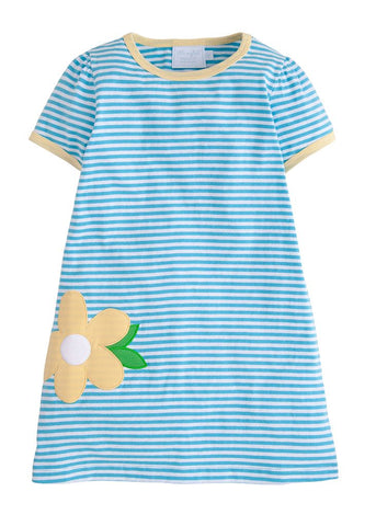 Daisy Applique T-Shirt Dress Little English