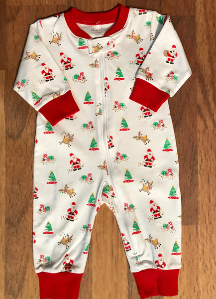 Santa's Helper Zip Playsuit