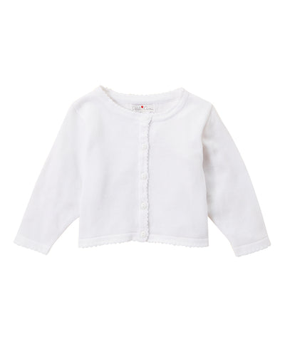 Scalloped Edge Sweater Months Petit Ami