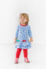 Scottie Print Dress w/Leggings Child Florence Eiseman
