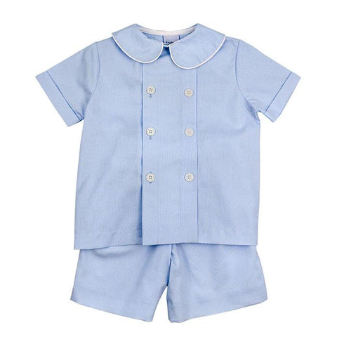 Seaside Pinwhale Dressy Shorts Set The Bailey Boys