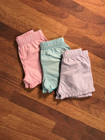 Seersucker Ruffle Shorts Child Luigi Kids