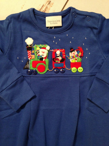 Santa Train Romper Squiggles
