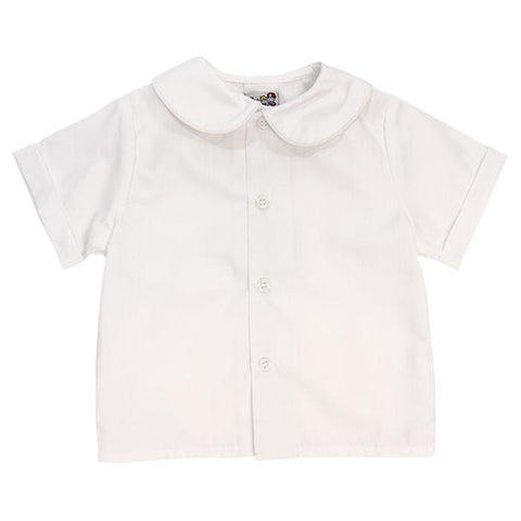 Boy's S/S Peter Pan Collar Shirt Bailey Boys