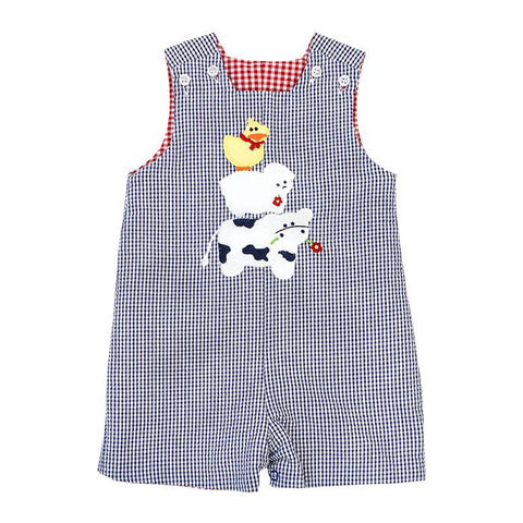 Stacked Animals Reversible Shortall