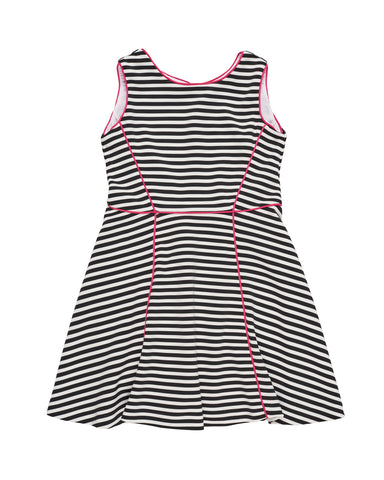Black & White Stripe Dress Florence Eiseman