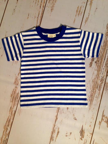 Boy's Stripe S/S Tee Luigi Kids