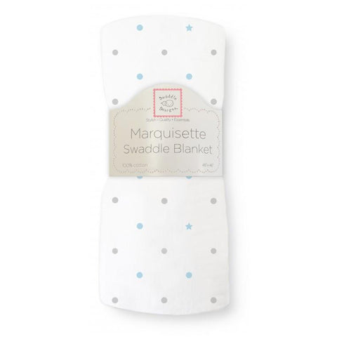 Marquisette Swaddle Blanket Dottie Star