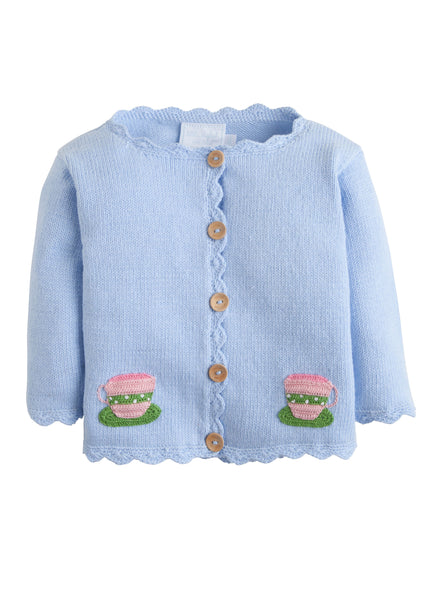 Teacup Crochet Sweater Little English 50% off