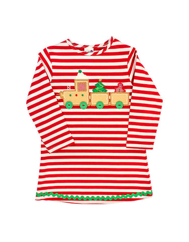 Gingerbread Train Knit Dress The Bailey Boys