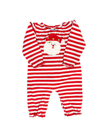 Santa Face Kendell Romper Bailey Boys