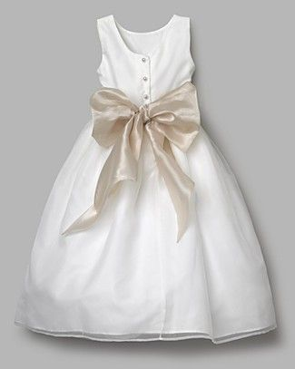 Sleeveless Organza Dress Youth Sizes US Angels