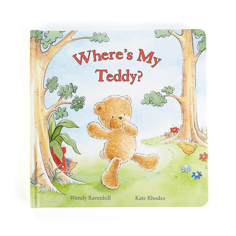 Where's My Teddy Book Jellycat