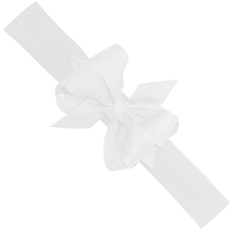 Mini Dbl Bow On Headband Wee Ones Hair Bows