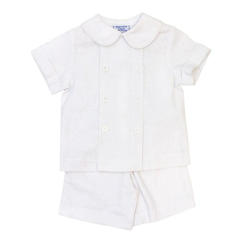 Cloud Linen Dressy Short Set Bailey Boys
