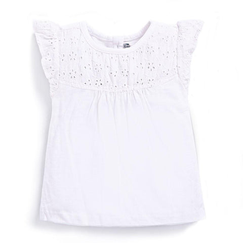 Embroidered Tee JoJo MaMan Bebe