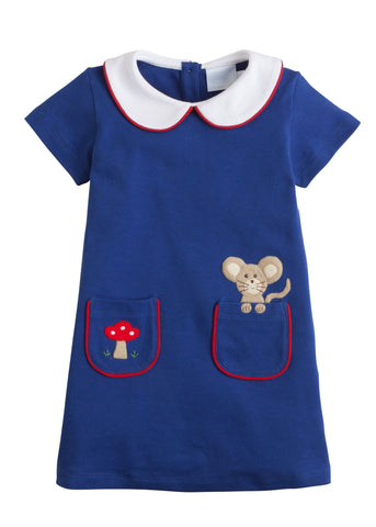 Woodland Applique Libby Dress Little English