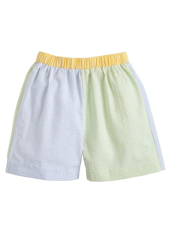 Colorblock Basic Shorts Little English