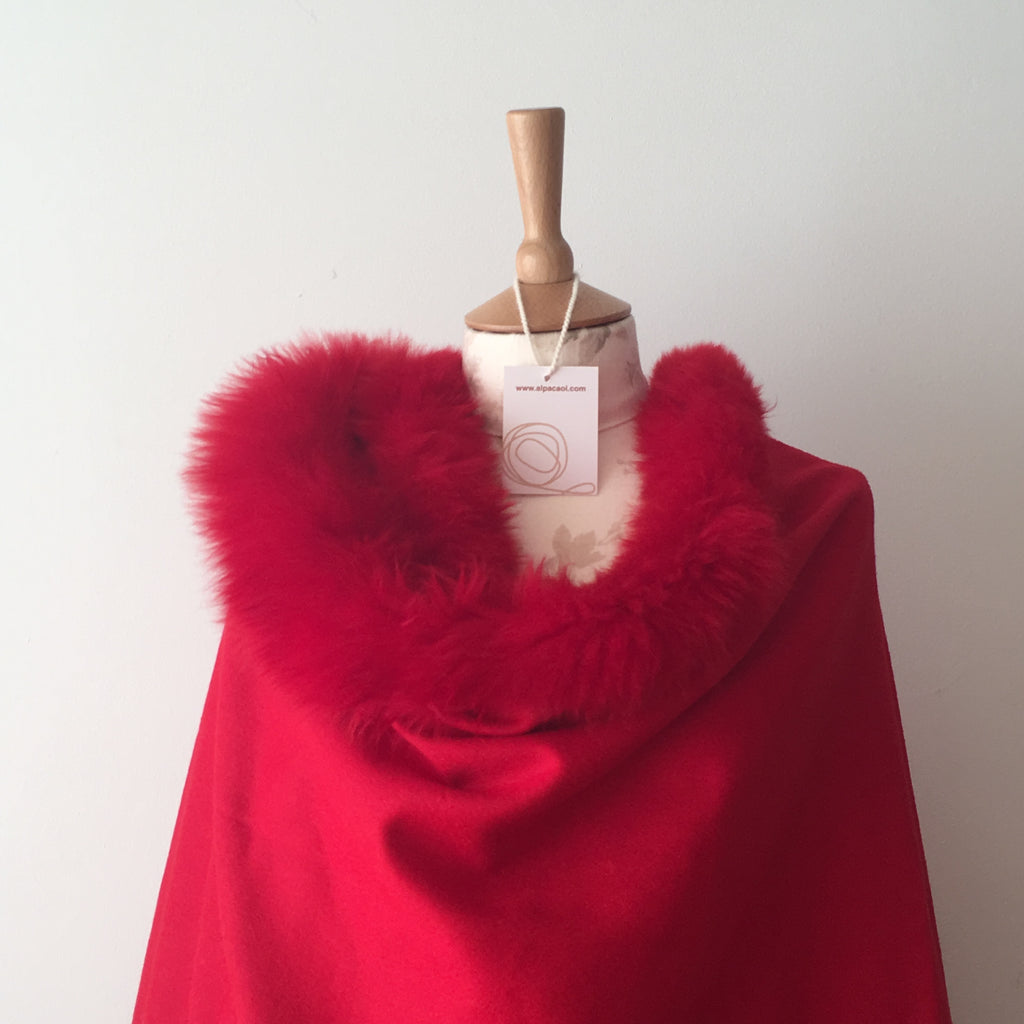ALFURCAPE 2 RED