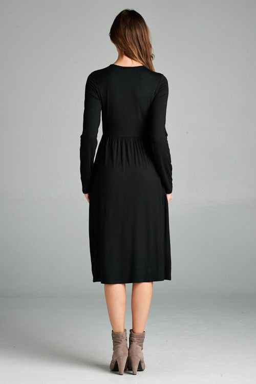 Kennedy Dress - Black