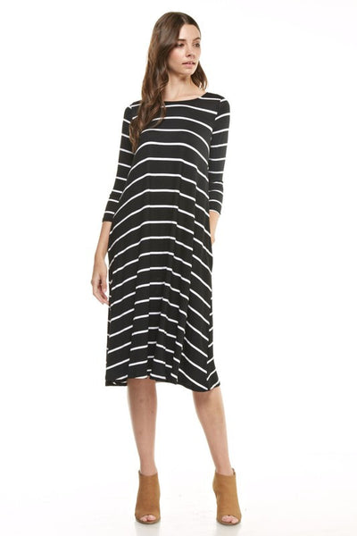 McKenna Dress - Black - Willow Blaire - 1