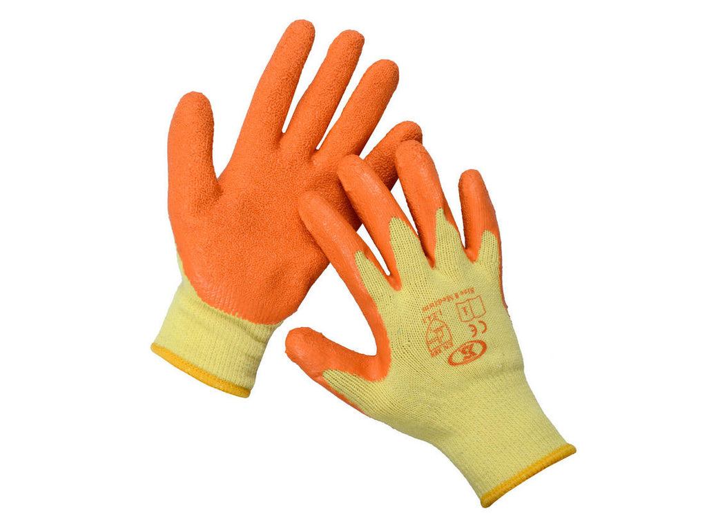 Orange reflex glove x 1 pair - xl