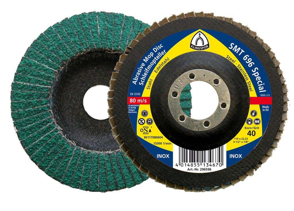 Klingspor 115mm 40g 615 flap disc x 1
