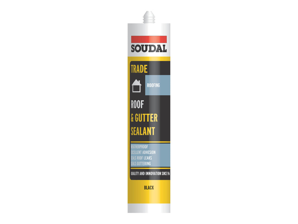 Black roof & gutter sealant x 310ml