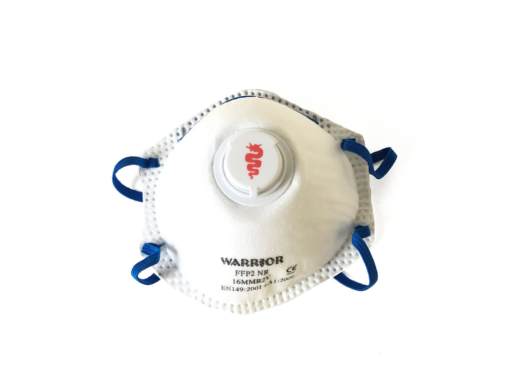Disposable dust mask ffp2 valved x 10