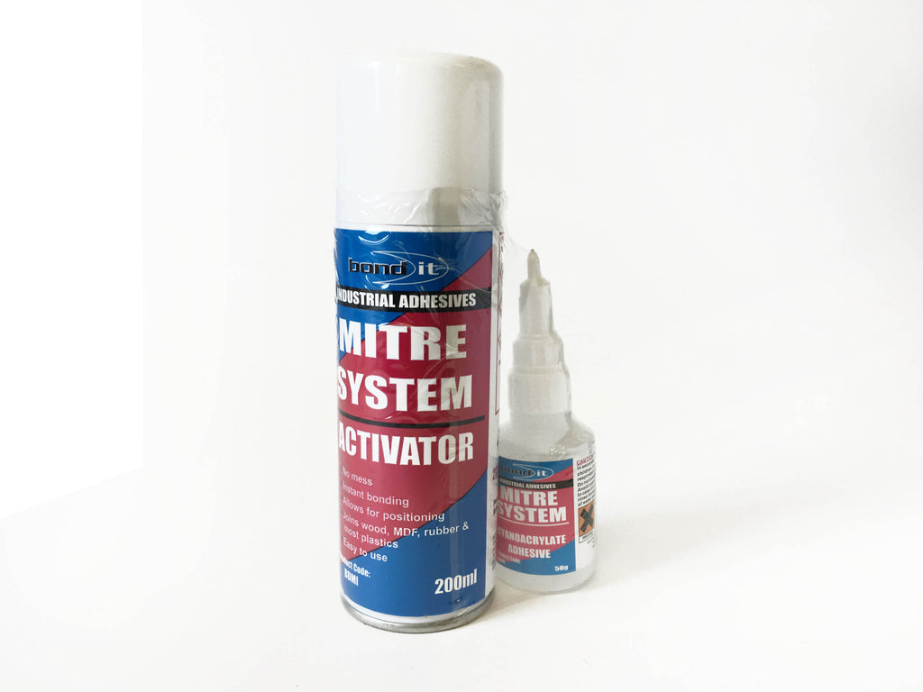Mitrefast kit (200ml act.& 50G glue)