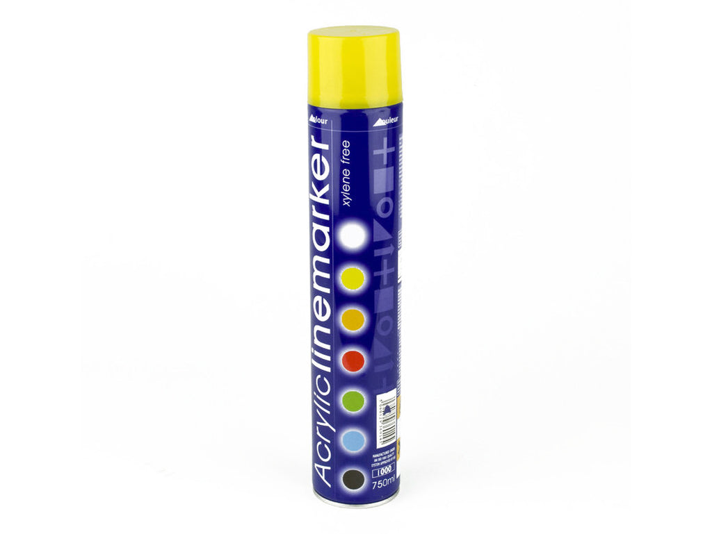 Yellow line spray paint x 750ml