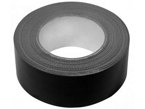 Black ducting tape x 50m