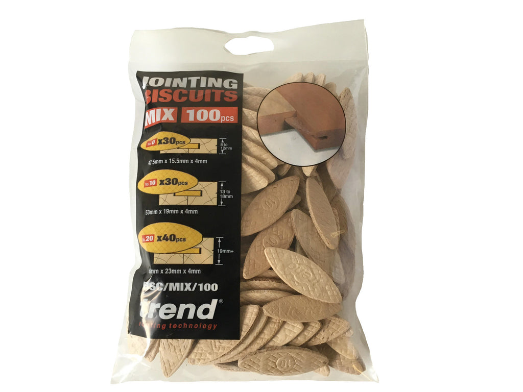 Trend bag of 100 mixed biscuits