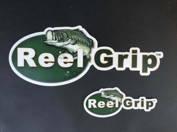 Reel Grip Stickers