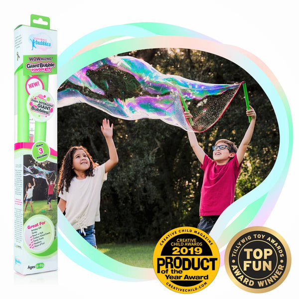 WOWmazing™ Giant Bubble Powder Kit - Baby Sweet Pea's Boutique