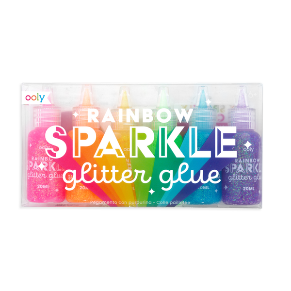 Rainbow Sparkle Glitter Glue - Baby Sweet Pea's Boutique