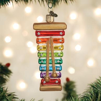 Toy Xylophone Ornament