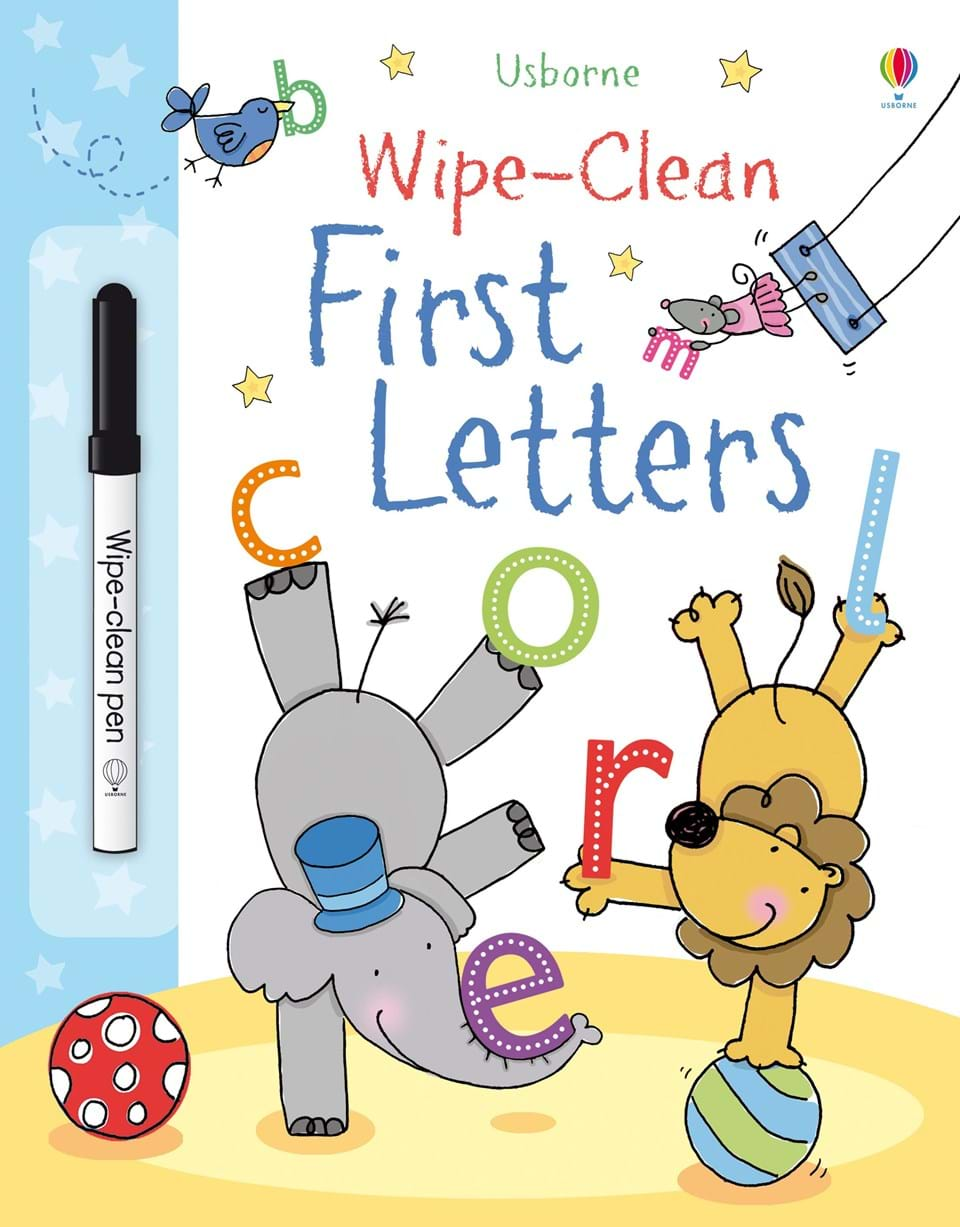 Wipe Clean: First Letters