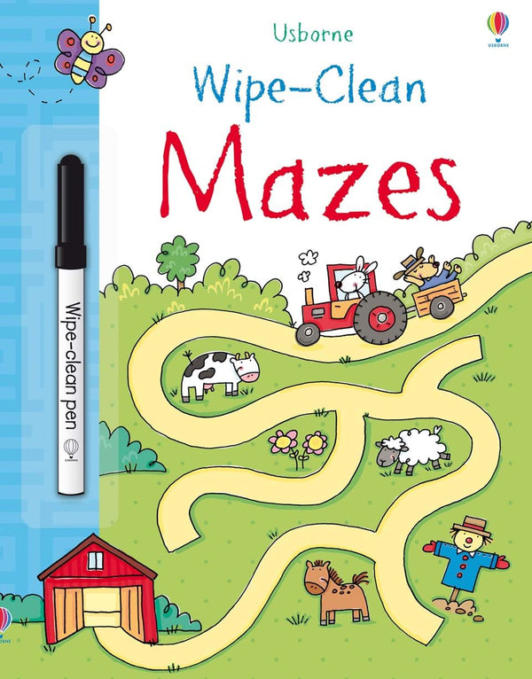 Wipe Clean: Mazes