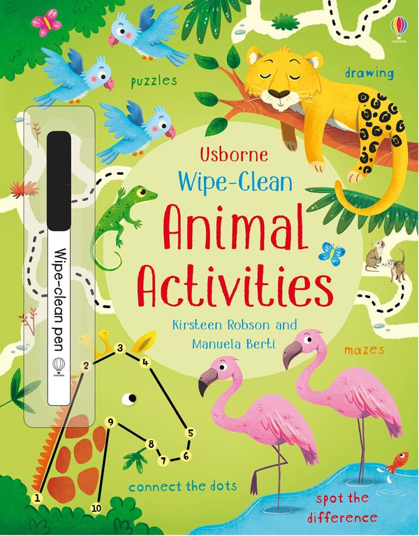 Wipe Clean: Animal Activities