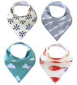 Copper Pearl Bandana Bibs - Baby Sweet Pea's Boutique