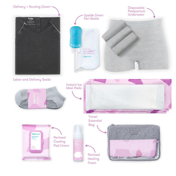 Labor and Delivery + Postpartum Recovery Kit