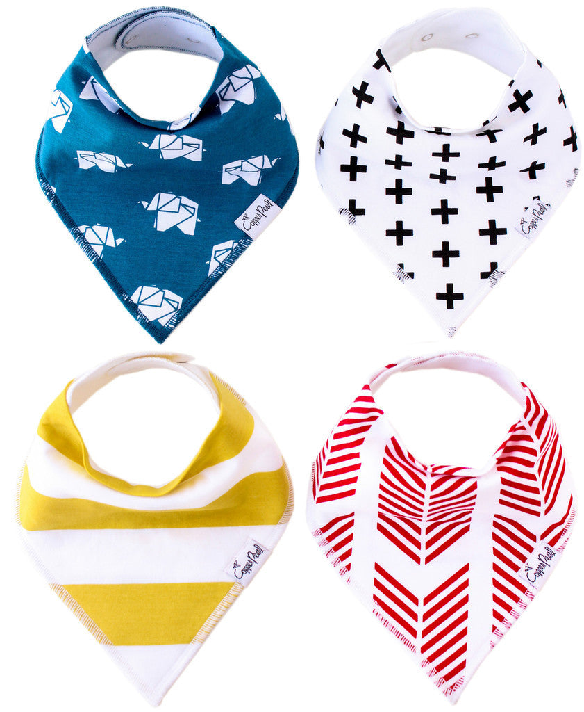 Baby Bandana Bibs- Indie - Baby Sweet Pea's Boutique