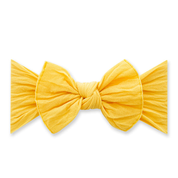 Canary Classic Knot Headband - Baby Sweet Pea's Boutique